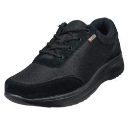 1014-000-0 Wallin Flex 3D-mesh/suede black/black black heren comfortsneaker