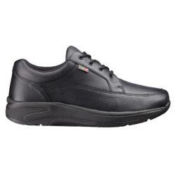 1024-300-00 Wallin Mover leer black black/black heren comfortsneaker