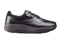 Wallin Mover leer-suede black-black black-black dames comfortsneaker 1043-500-00
