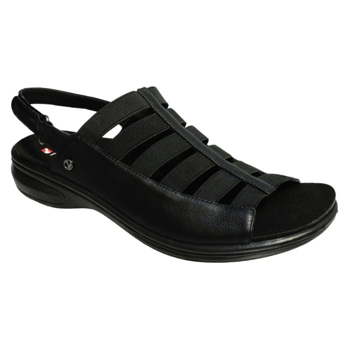 Revere Olympia black damessandaal