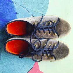 DIVADI Love Shoe slate comfortsneaker