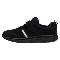 Proflex_Sport_dames_comfortsneaker_in_zwart_mesh_en_zwart_suede_met_een_zwarte_zool_1555-000-0