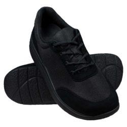 Proflex_dames_comfortsneaker_in_zwart_mesh_en_zwart_suede_met_een_zwarte_zool_PAAR_1603-000-0